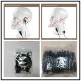 наушник Mono штепсельной вилки 3.5 mm двухсторонний Radio с прямым или спиральным кабелем для слушает только