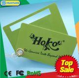 De plástico de alta qualidade smart cards de etiqueta de bagagem de RFID com impressão personalizada
