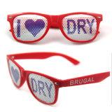 Cheap facile à utiliser avec le logo de marque propre du châssis de PC à la promotion des lunettes de soleil