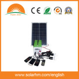 (HM-3012-1) 30W12ah sistema DC Solar Mono para alimentação de energia solar