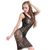 Оптовая высокая упругость плюс Fishnet Bodystocking BS8899 женское бельё размера сексуальный