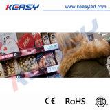 Étalage d'intérieur d'étagère de la définition élevée mini DEL de commerce de détail