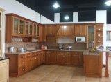 Module de cuisine américain en bois plein de cerise de modèle français