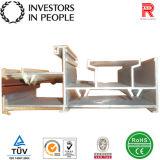 Profils en aluminium/en aluminium d'extrusion pour le tube d'échafaudage