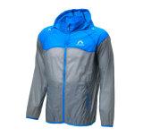 방풍 재킷 두건이 있는 피부 외투 일요일 방어적인 반대로 튀기는 물 황록색 가벼운 순환을 순환해 남자