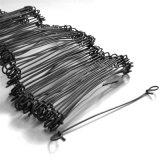 fil mou galvanisé électrique de relation étroite de sac de 18 mesures