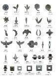 Adornos de hierro forjado y metal lanza