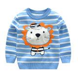 Nouveau mode d'enfants Les enfants de la bande de Pull Pull-over de gros de vêtements avec des dessins animés