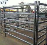 Bauernhof-Viehbestand-Geräten-ovales Gefäß-Vieh-Yard-Stahlpanel