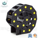 Máquina CNC Series 55 flexible de nylon de plástico envuelto de la energía de la cadena de cable de arrastre de rodillos