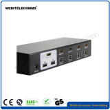 Os controles do mouse e teclado, 2/4/8 portas, HDMI Switch KVM para Computador Portátil