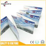 Карточка билета высокого качества RFID бумажная с подгонянными логосом и черной меткой