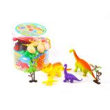 Heiße verkaufende lebensechte hohe nachgemachte lustige weiche Plastikdinosaurier-Spielwaren