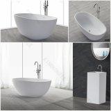 浴室の家具のCorianの固体表面の自由で永続的な浴槽