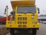 3つの車軸ダンプトラックのダンプカートラック