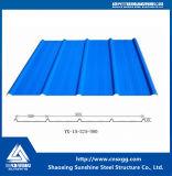 Цвет гофрированные стальные крыши/стены и пол Claddings металлических листов
