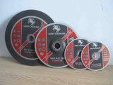 Roda de moedura dos abrasivos, Disco-MPa de moedura En12413