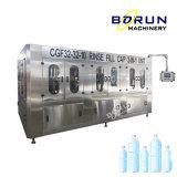 3 en 1 totalmente automática monobloc de llenado de embotellado de agua potable de la máquina de embalaje