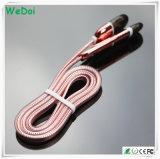 Cavo Braided di nylon del USB di dati di modo per i telefoni mobili (WY-CA04)