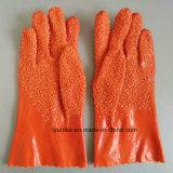 Частицы с ПВХ защитные перчатки
