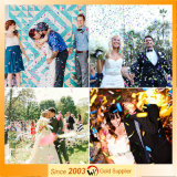 Empujar-Hacer estallar el tirador del confeti para la decoración de la boda