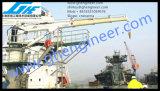 Grúa telescópica hidráulica del infante de marina del auge