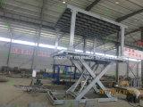 CE voiture vertical hydraulique de levage le stationnement du matériel à double étage