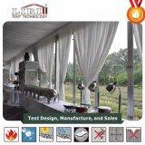 500 Tent van de Partij van het Huwelijk van de Spanwijdte van het Aluminium van de capaciteit de Openlucht Duidelijke
