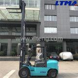 Hohen Mast voll freigeben der 4 Tonnen-mechanische Gabelstapler für Verkauf