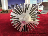 Vente en usine 6063 T5 Extrusion Anodisation Aluminium Heat Sink Profile