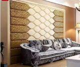 панель стены PU 3D кожаный для домашнего украшения