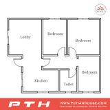 Casa luxuosa da casa de campo do projeto 2016 moderno para HOME viva com quarto/cozinha/toalete