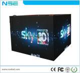 En el interior P2.6 SMD LED frontal curvo de mantenimiento