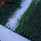 Дерновина выхода фабрики 50mm качества 9500dtex Soccer&Sports зеленая искусственная