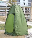 [بورتبل] مقطورات مراحيض يفرقع يطوي فوق شاطئ قبة صيد سمك خيمة