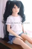 jouet sexy réaliste d'amour de poitrine de 108cm de silicones de poupée plate de sexe