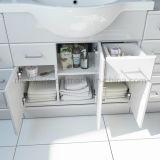 bacino bianco dell'unità di vanità della stanza da bagno del MDF di lucentezza di 850mm