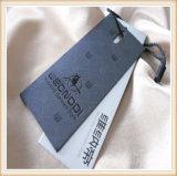 カスタム衣類のペーパーこつの札デザイン