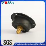 Calibradores de presión posteriores generales del montaje del borde de la conexión con el resorte tubular