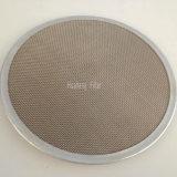 Malla de acero inoxidable filtro de aceite de disco