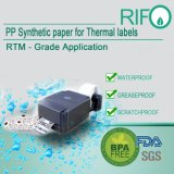Rolo de papel artesanal de fita de transferência térmica e auto-adesivo papel térmico