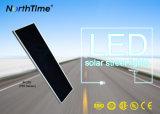 o diodo emissor de luz 90W integrou tudo em uma lâmpada de rua solar do sensor