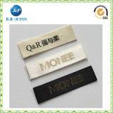 Het fabriek Aangepaste Geweven Etiket van de Merknaam Kledingstuk voor Kleding (JP-CL147)