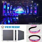 Yestech magische Stadiums-Serie farbenreiches gebogenes LED-Bildschirmanzeige-Panel