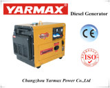 Économique générateur diesel refroidi par air 4.5kVA silencieux