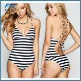 Qualitätseinteiliger Mädchen-Form-Bikini-Badebekleidungbeachwear-Badeanzug