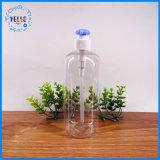 De Transparante Kosmetische Verpakking van uitstekende kwaliteit van de Fles Pegt met Pomp