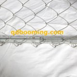 Frontière de sécurité de crabot galvanisée par qualité de maillon de chaîne de Hight, chenil de crabot