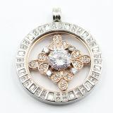 Pendentif personnalisé 316L en acier inoxydable pour collier bijoux