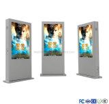 Doppeltes versah LCD-im Freienbildschirmanzeige für das Bekanntmachen mit Seiten